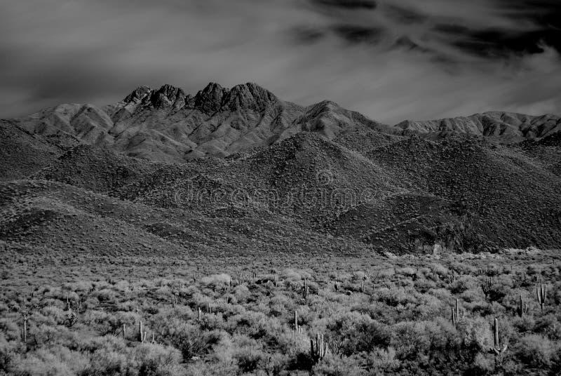 Desert Mountains royalty free stock photo