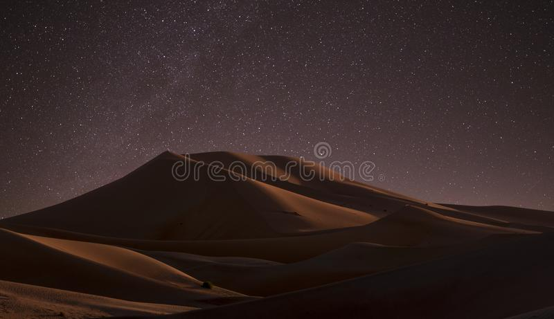 Desert During Nighttime Free Public Domain Cc0 Image