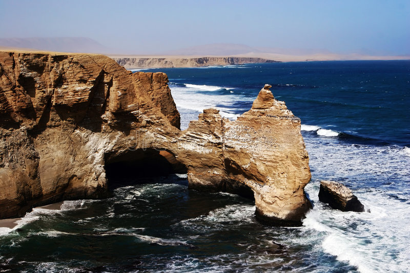 Download Desert and ocean stock image. Image of nature, flush, majestic - 4278201