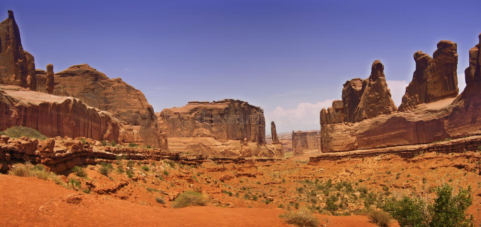 Download Desert panorama stock photo. Image of land, plateau, isolated - 808242