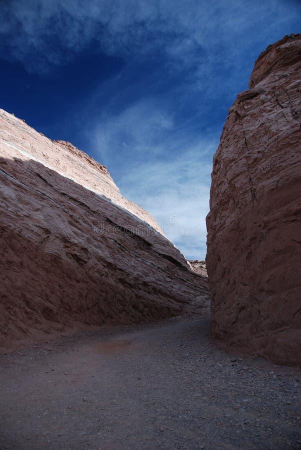 Desert path royalty free stock photo