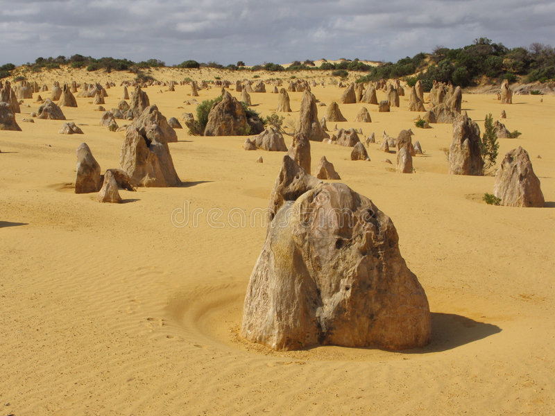 desert pinnacles стоковая фотография