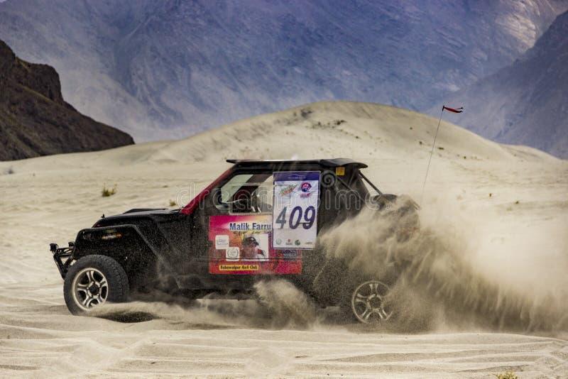 Desert Rally stock photography