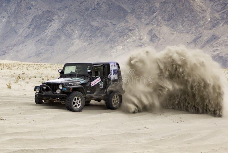 Desert Rally 2 stock images