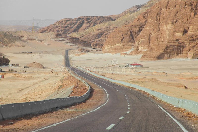 Download Desert road stock image. Image of distance, lane, landscape - 21785317