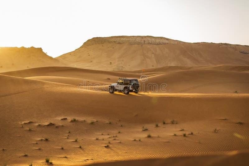Desert Safari in Dubai stock images
