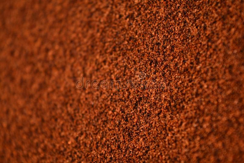 Desert sand magnified particles. Sahara desert hipnotizing magnified sand particles during sunset time stock photography