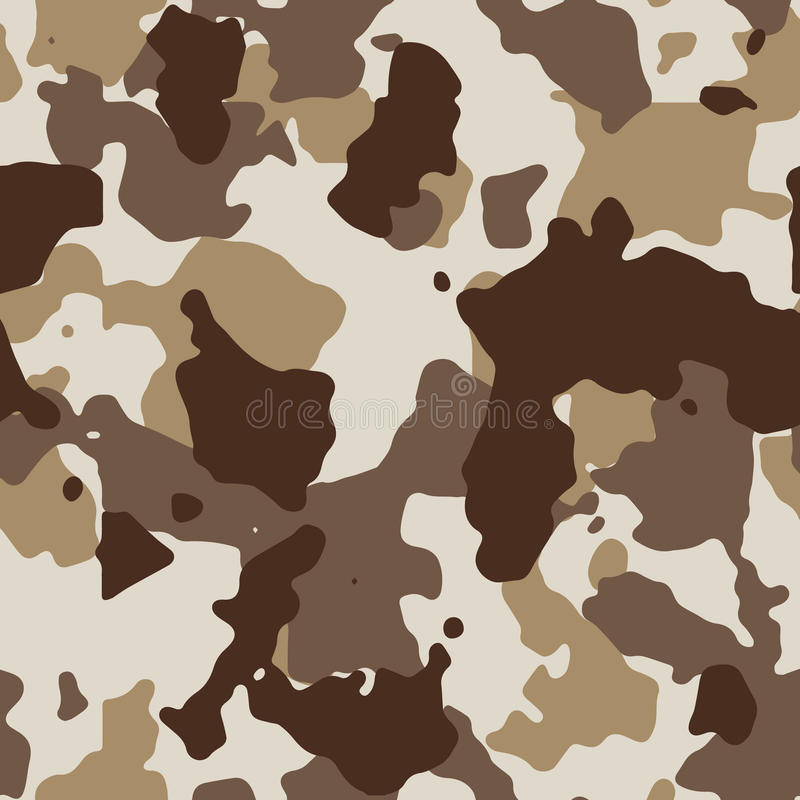 Download Desert Seamless Camo Stock Vector Illustration Of Abstract