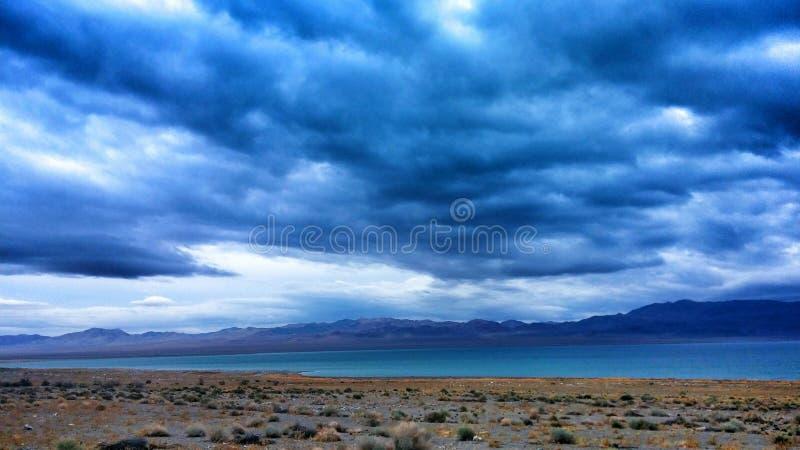 Desert See stockbild