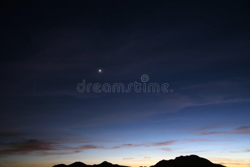 Download Desert Sky At Nightfall Stock Photography - Image: 2969112