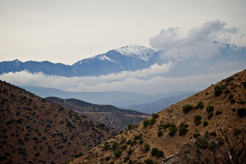 Download Desert/Snowy Mountains. stock photo. Image of desert - 14522120