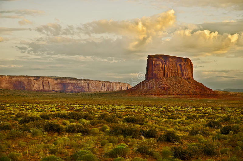 Desert South West Buttes stock photography