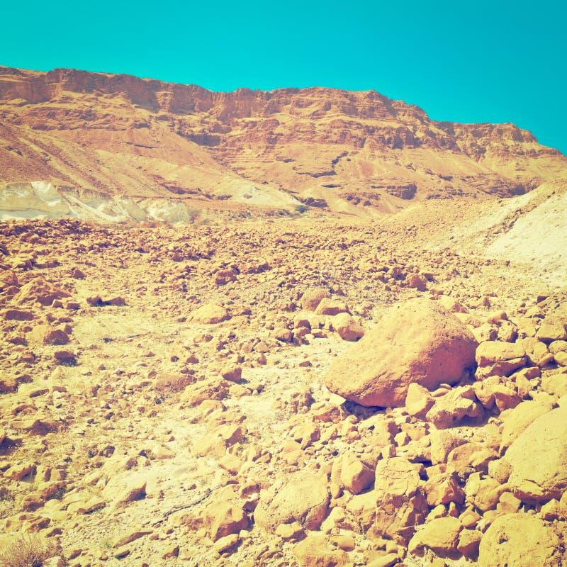Download Desert stony стоковое изображение. изображение насчитывающей грязь - 41654173