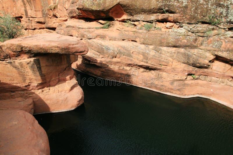 Download Desert swimming hole stock image. Image of keyhole, desert - 12406647