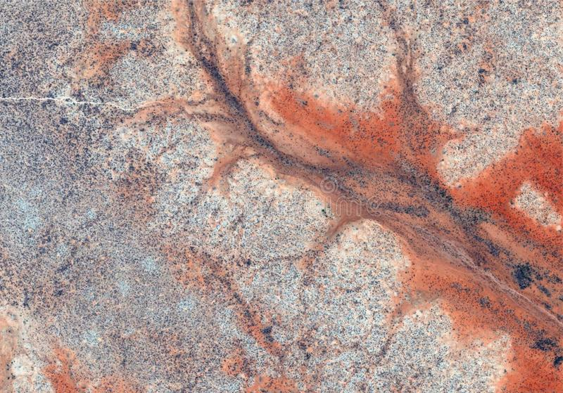 Desert texture with lines stock images