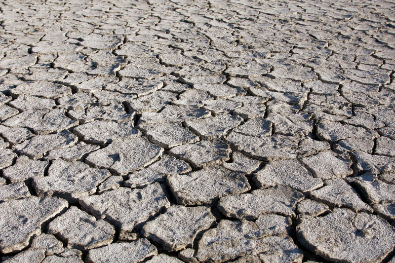 Desert texture, parched and cracked earth. Desert texture, background parched and cracked earth royalty free stock photography