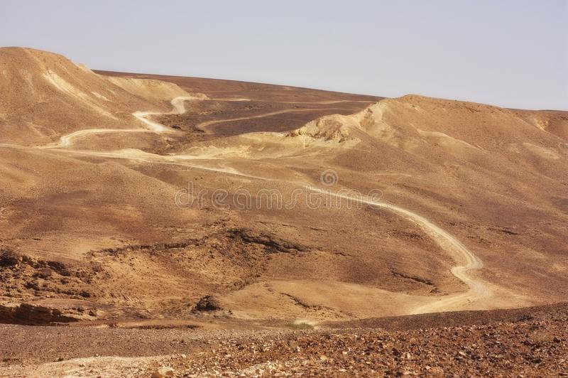 Download Desert trail stock image. Image of grand, line, sand - 17728457