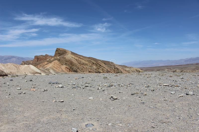 Desert in Death Valley, USA. Desert view in Death Valley, USA, one of the hotests place on the world stock photos