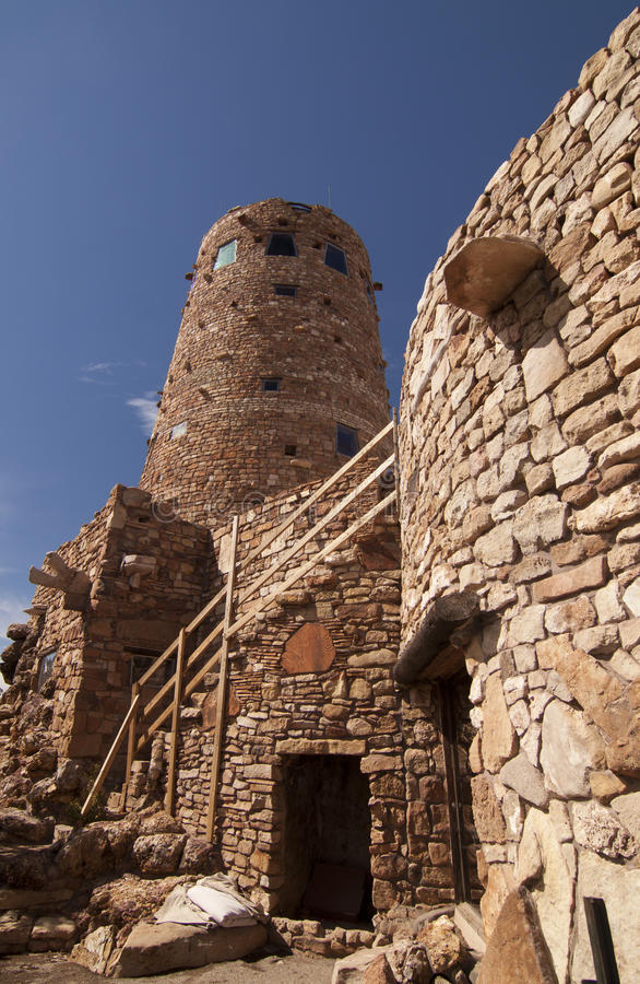 Free Desert View Tower, Grand Canyon Royalty Free Stock Photo - 16952895