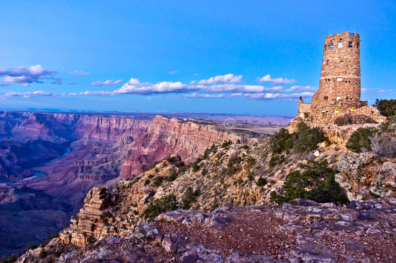 Download Desert View Watchtower stock photo. Image of view, mary - 28734162