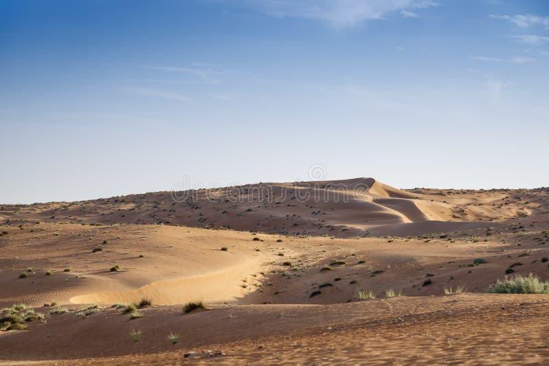 Desert Wahiba Oman royalty free stock photography