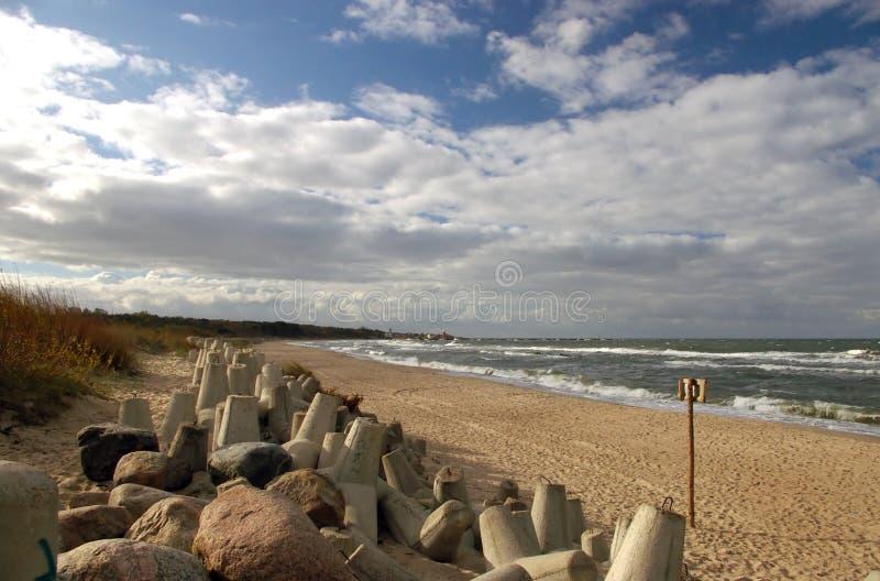 Download Deserted beach stock photo. Image of beachfront, shoreline - 1750286