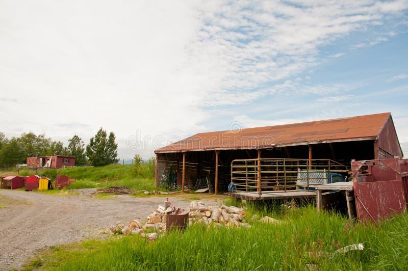 Deserted Farm House Stock Photos