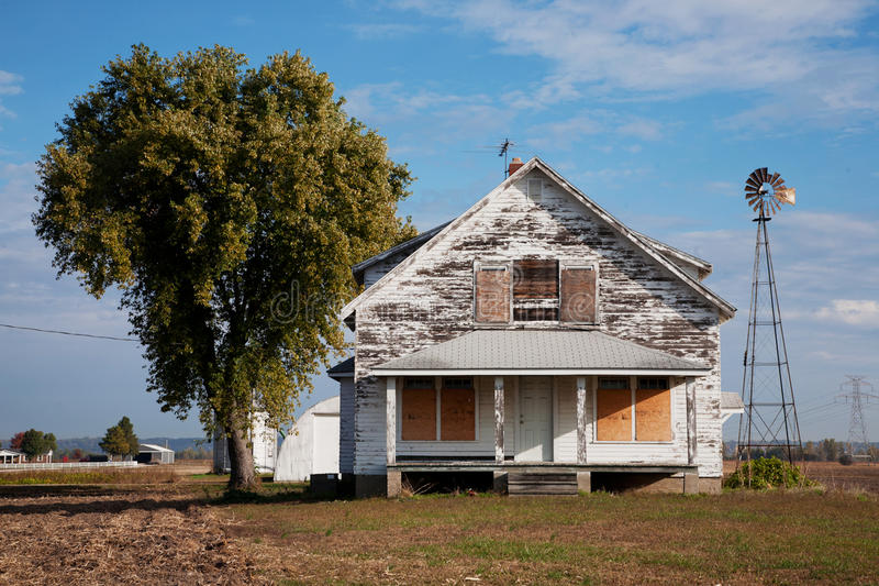 Deserted house stock images