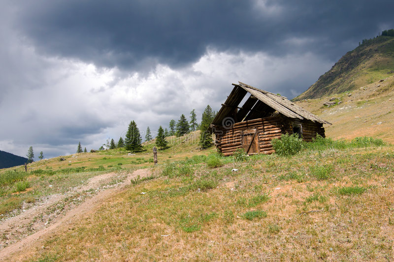 Deserted house royalty free stock photography