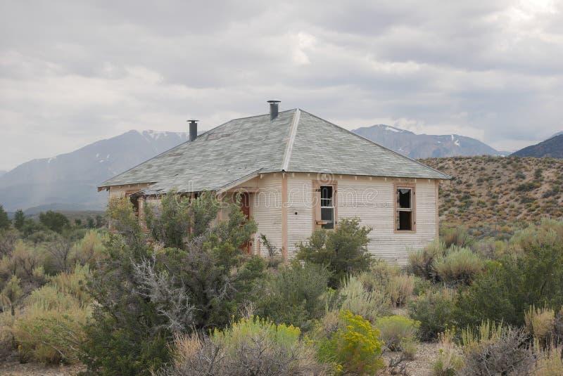deserted house royalty free stock photo