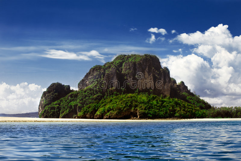 Download Deserted Island Royalty Free Stock Photo - Image: 4131345