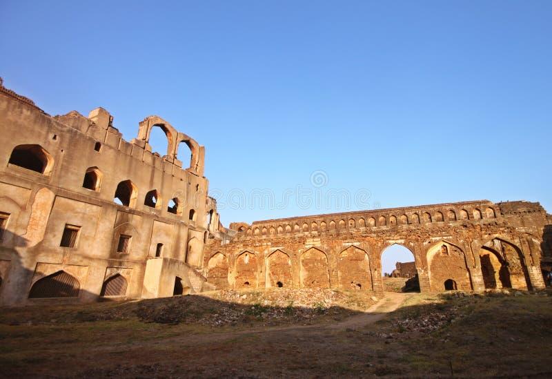 Deserted palace stock image