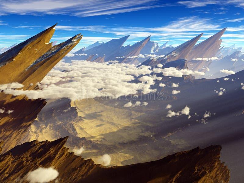 Deserted paradise royalty free stock image