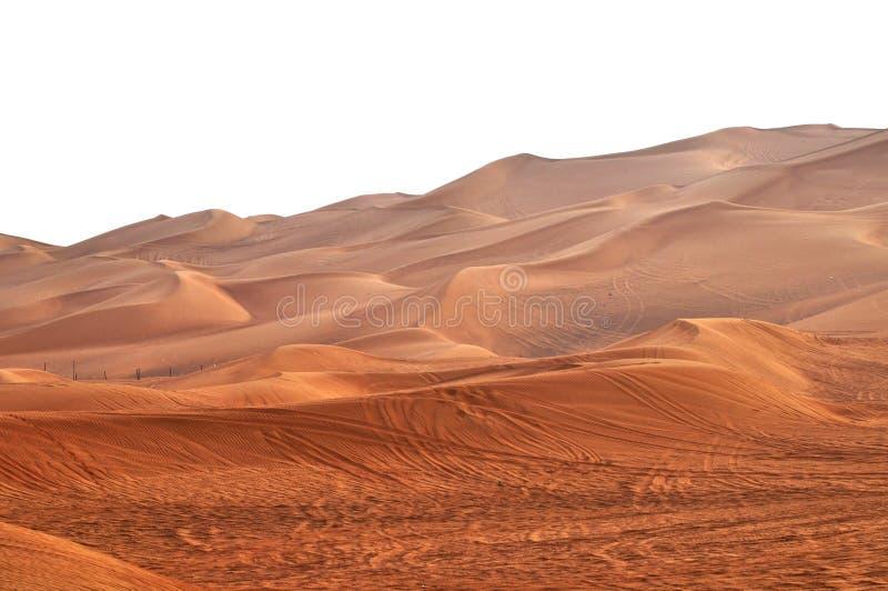 Deserti dei UAE fotografia stock