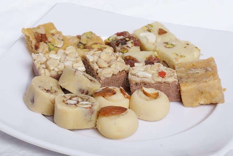 deserti dolci pakistani speciali con latte e zucchero immagine stock libera da diritti