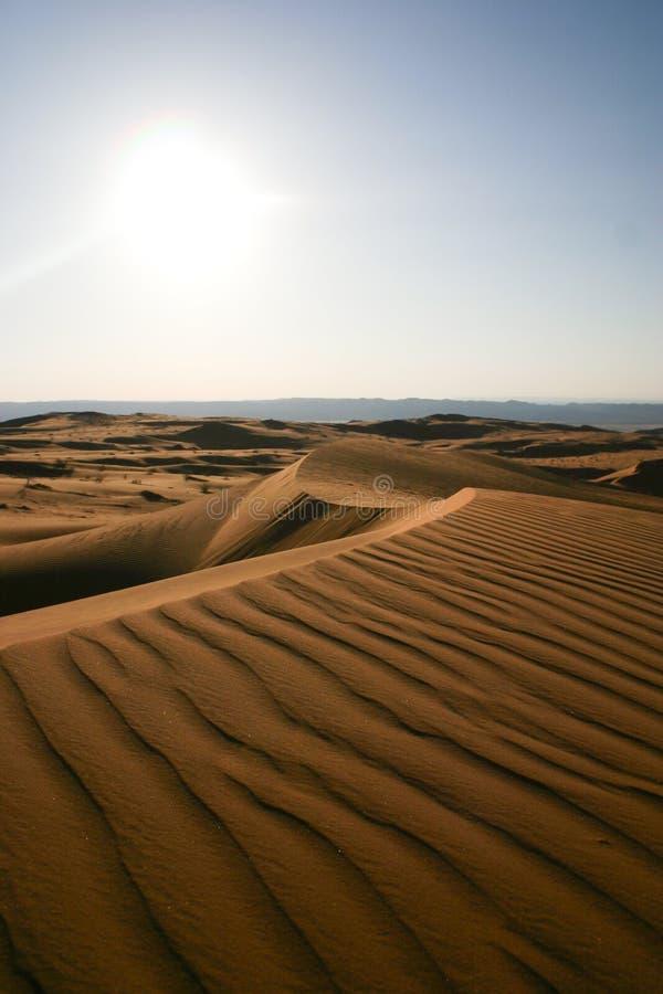 Deserto árabe -3 imagens de stock royalty free