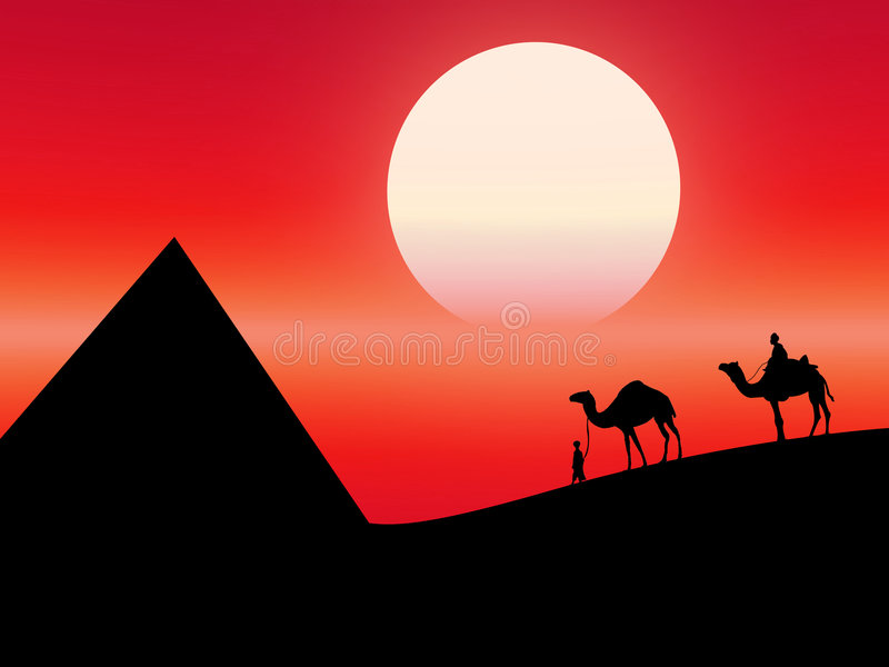 Download Deserto illustrazione di stock. Illustrazione di pelliccia - 3138055