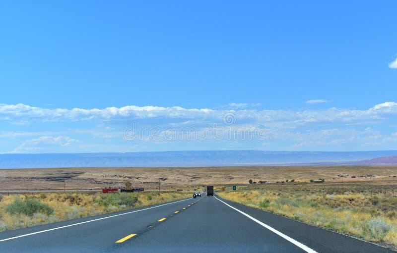 Deserto in Arizona fotografia stock libera da diritti