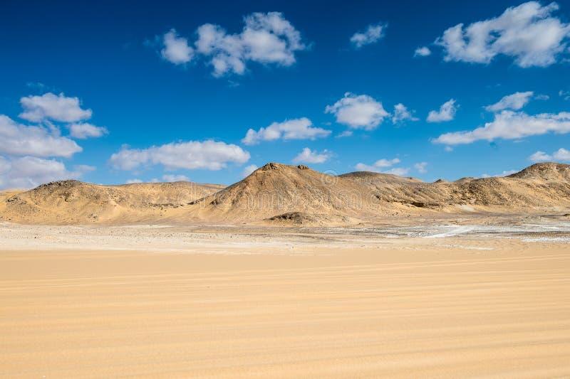 Deserto bianco occidentale, nell'Egitto fotografia stock libera da diritti