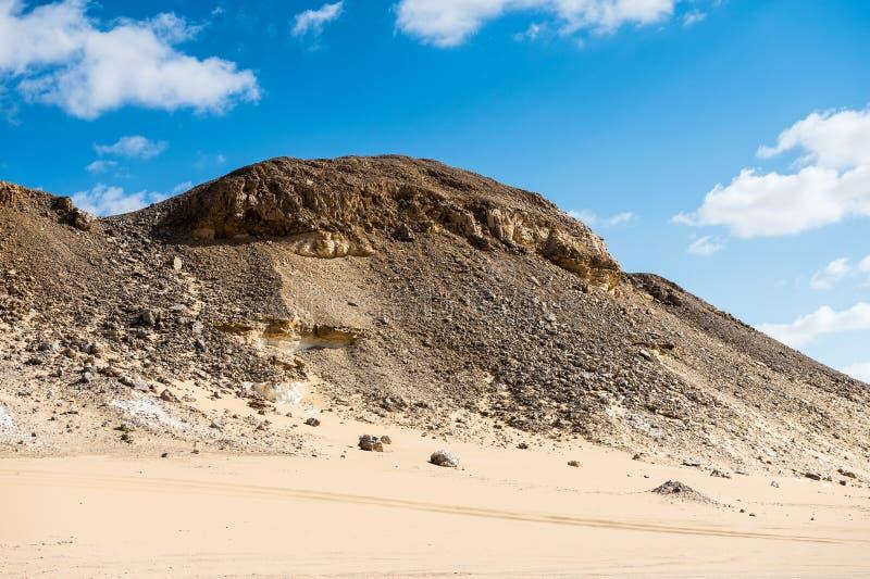 Deserto bianco occidentale, nell'Egitto fotografie stock libere da diritti