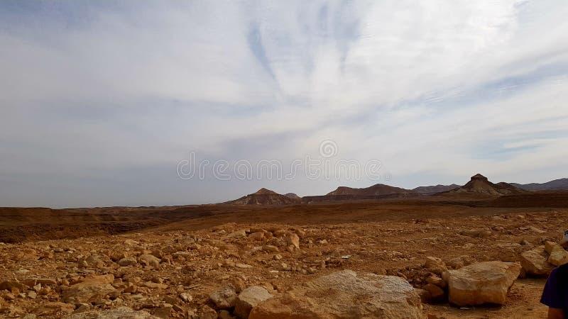 deserto da natureza da paisagem da terra da foto do ar fresco fotografia de stock