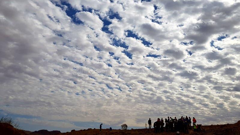 deserto da natureza da paisagem da terra da foto do ar fresco imagem de stock royalty free