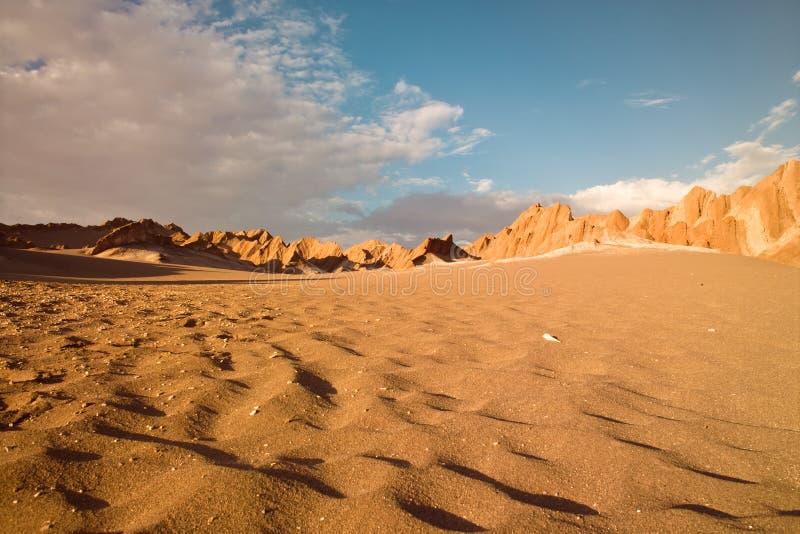 Deserto de Atacama, imagem de stock