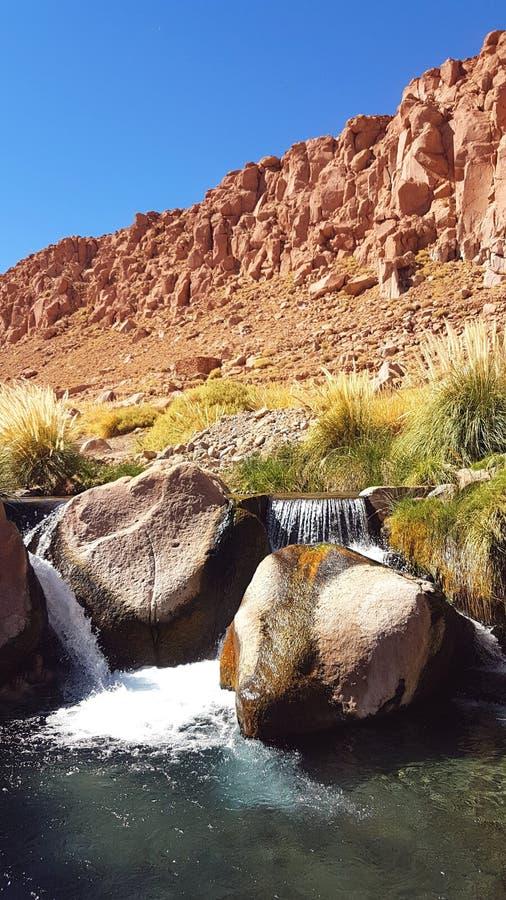 Deserto de Atacama - o Chile 2018 imagem de stock
