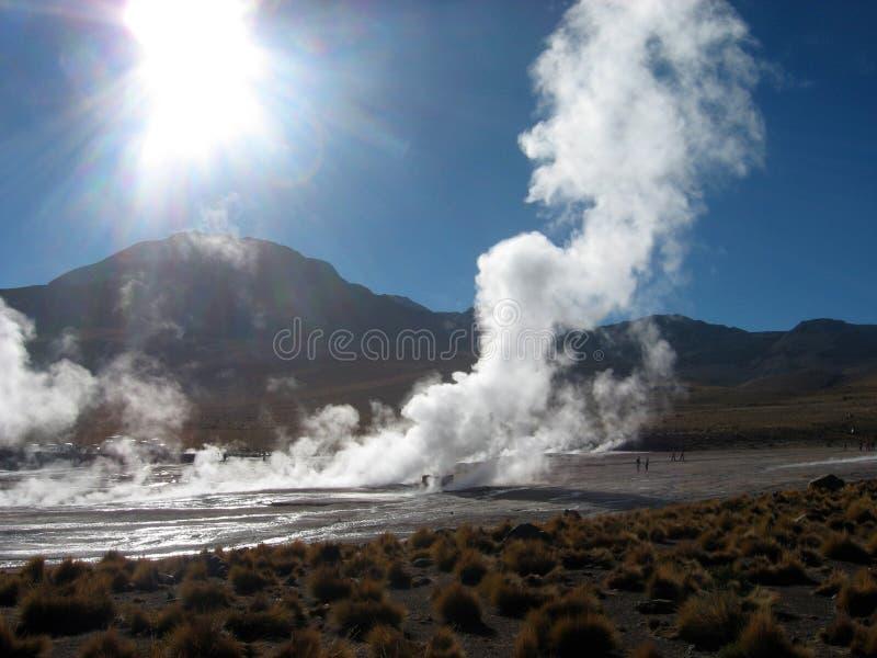 Deserto de Atacama, o Chile imagem de stock royalty free