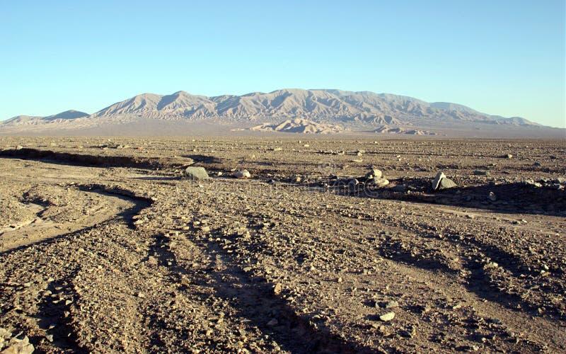 Deserto de Atacama, o Chile imagens de stock