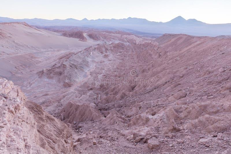 Deserto de Atacama, Valle de La Muerte - nascer do sol fotos de stock royalty free