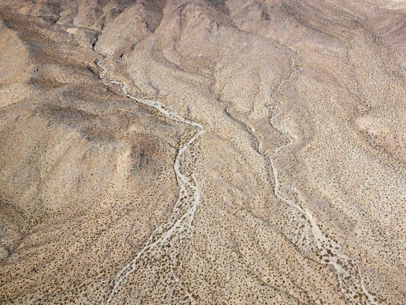 Deserto de Califórnia fotografia de stock