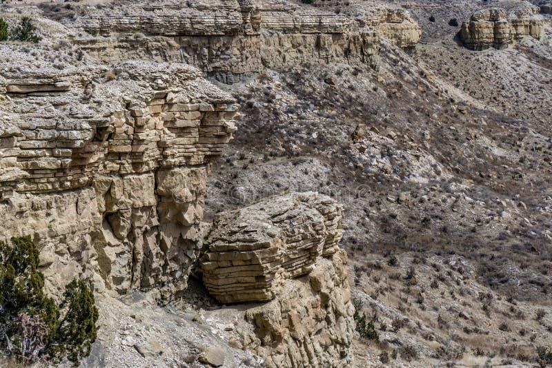 Deserto de cerco de Colorado do parque estadual do povoado ind?geno do lago imagem de stock royalty free