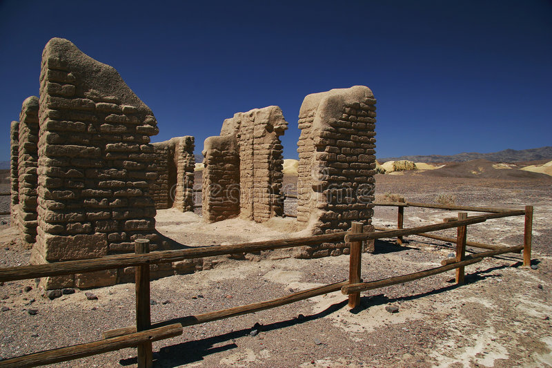 Deserto de Death Valley foto de stock